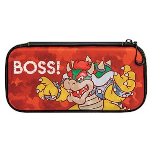 Switch Slim Travel Case Bowser Camo Edition PDP - Switch