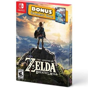 Game The Legend of Zelda Breath of The Wild Bônus Edition - Switch