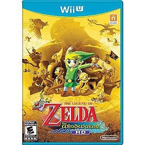 Game The Legend of Zelda The Wind Waker HD - Wiiu [usado]