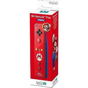 Controle Wii Remote Plus Mario - Wiiu [usado]