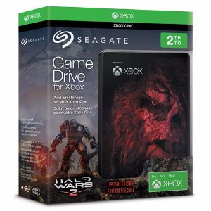 HD Externo Seagate Game Drive For Xbox One 2TB Halo Wars 2 - Seagate [usado]
