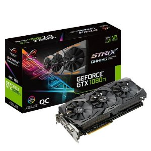Nvidia GTX 1080TI Asus Strix 11GB GDDR 5X PCI Express [usada]