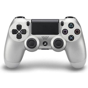 Controle DualShock 4 Sem fio para PS4 - Prata