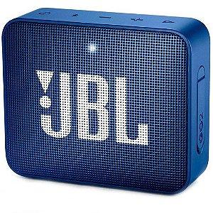 Caixa de Som JBL Go 2, Bluetooth, À Prova D´Água, 3.1W, Azul - JBL