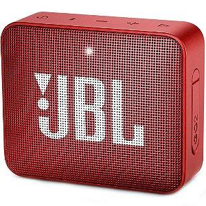 Caixa de Som JBL Go 2, Bluetooth, À Prova D´Água, 3W, Vermelha - JBL