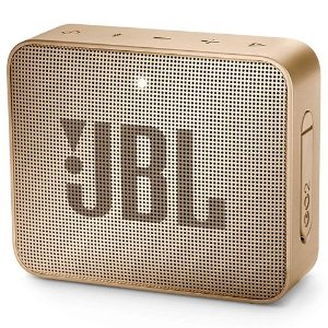 Caixa de Som JBL Go 2, Bluetooth, À Prova D´Água, 3W, Gold - JBL