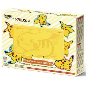 Console New Nintendo 3DS XL Pikachu Yellow Edition - Nintendo