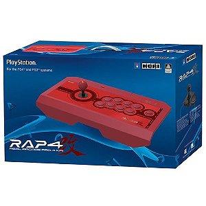 Controle Real Arcade Pro Kai 4 Vermelho PS4 - Hori