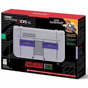 Console New Nintendo 3DS XL Super Nintendo Edition - Nintendo