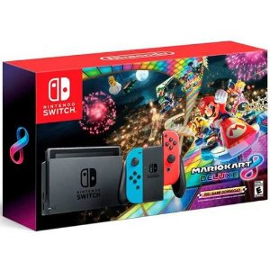 Console Nintendo Switch 32GB Mario Kart 8 Bundle - Nintendo