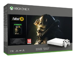 Xbox One X 1TB White Fallout 76 Bundle - Microsoft