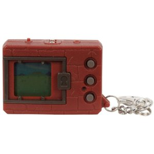 Digimon Bandai Original Digivice Virtual Pet Monster - Brick Brown