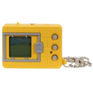 Digimon Bandai Original Digivice Virtual Pet Monster - Yellow