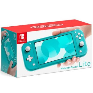 Console Nintendo Switch Lite Turquoise - Nintendo