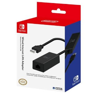 Adaptador Internet Lan Nintendo Switch - Hori