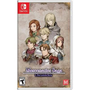 Game Mercenaries Saga Chronicles - Switch