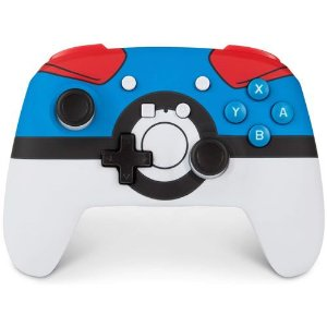 Pokémon Wireless Controller Switch – Poké Ball