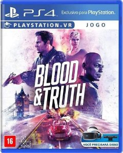 Game Blood & Truth VR - PS4