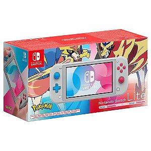 Console Nintendo Switch Lite Zacian and Zamazenta Edition - Nintendo
