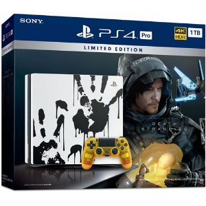 Console PS4 Pro 1TB Death Stranding Limited Edition - Sony