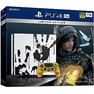 Console PS4 Pro 1TB Death Stranding Limited Edition - Sony [Seminovo]