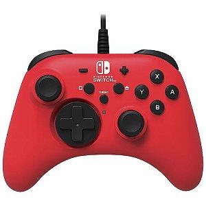 Controle com Fio Hori Vermelho - Switch
