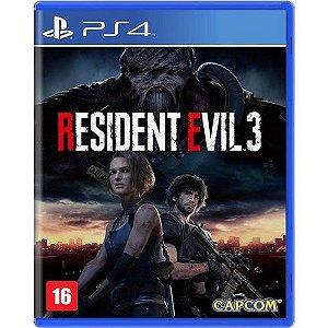 Game Resident Evil 3 - PS4