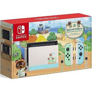 Console Nintendo Switch 32GB Animal Crossing New Horizons Edition - Nintendo
