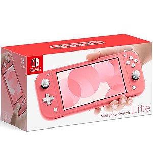 Console Nintendo Switch Lite 32GB Coral - Nintendo