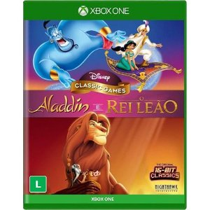 Game Aladdin e O Rei Leão - Xbox One