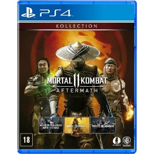 Game Mortal Kombat 11 Aftermath - PS4
