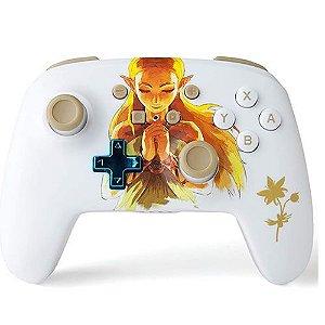 Controle Sem Fio Nintendo Switch Princesa Zelda - PowerA