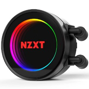 Water Cooler 360mm NZXT Kraken X72 Intel e AMD AM4 Triple Fan 120mm - NZXT [Seminovo]