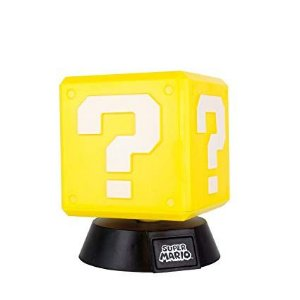 Luminária Nintendo Super Mario Bros Question Block 3D - Paladone