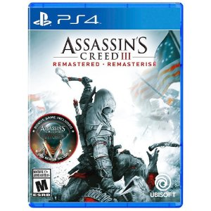 Game Assassin's Creed III Remasterizado - PS4
