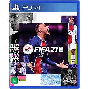 Game FIFA 21 - PS4 [Edição Upgrade PS5] Pré-venda