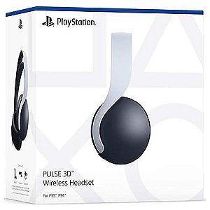 Head Set Sem Fio Pulse 3D PS5 - Garantia Oficial Sony