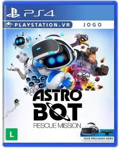 Game Astro Bot Rescue Mission VR - PS4
