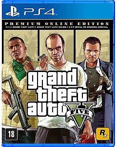 Game Grand Theft Auto V Premium Edition - PS4