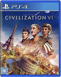 Game Sid Meiers Civilization VI - PS4
