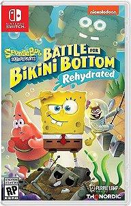 Game Bob Sponja SquarePants Battle For Bikini Bottom Rehydrated - Switch
