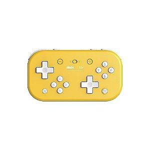 Controle 8Bitdo Bluetooth Lite - Switch , Windows , Steam - Amarelo