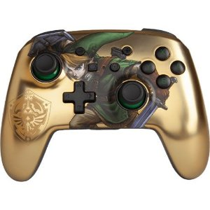 Controle Sem fio PowerA Link Gold - Switch