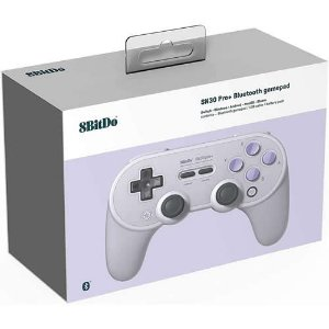 Controle 8Bitdo Bluetooth SN30 - Switch , Windows , MacOS , Android - Snes Color