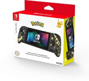 Controle Hori Split Pad Pro Pikachu Black & Gold - Switch