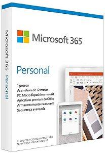 Licença Microsoft 365 Personal - Anual Para Até 5 dispositivos