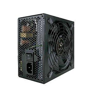 Fonte De Alimentação Atx Gaming - C3Tech Ps-G600b - 600w 80plus