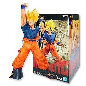 Action Figure Dragon Ball Z – Son Goku Super Sayajin Maximatic - Bandai Banpresto