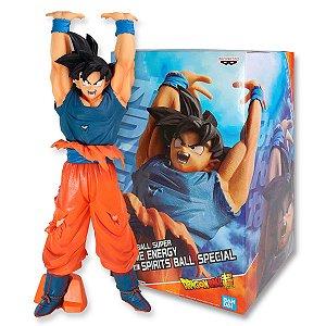 Action Figure Dragon Ball Super – Son Goku Genki Dama - Bandai Banpresto