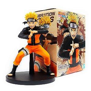 Action Figure Naruto Shippuden – Naruto Uzamaki II – Vibration Stars - Bandai Banpresto